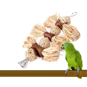 Straw Life Bird Toy