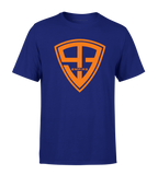 "T-shirt - ""93 Empire"" - Navy/Orange"