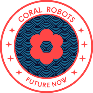 Coral Stickers 2x