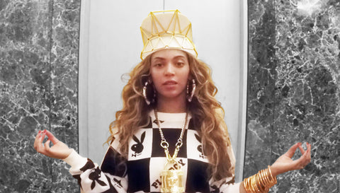 BEYONCE 7/11 WXYZ JEWELRY VISOR CROWN