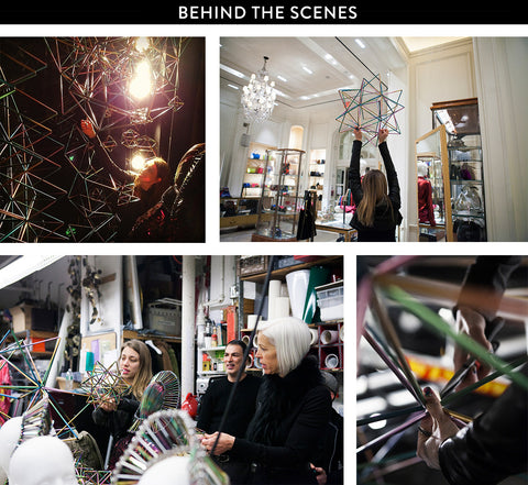 BERGDORF GOODMAN WXYZ JEWELRY BEHIND THE SCENES 5TH AVE WINDOW DESIGN