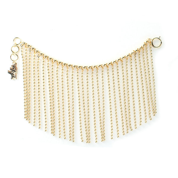 Ball Chain Curtain Bracelet
