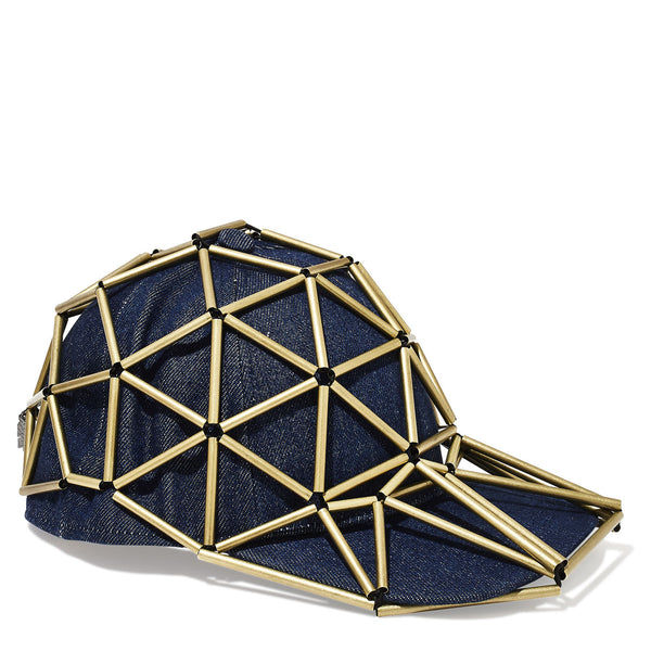 Gio Baseball Cap Hat with Denim