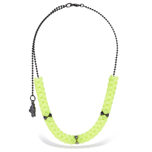 Mini Gummy Rubber Jax Station Necklace