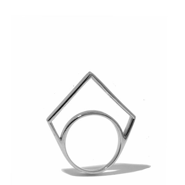 Thin Hollow Point Ring