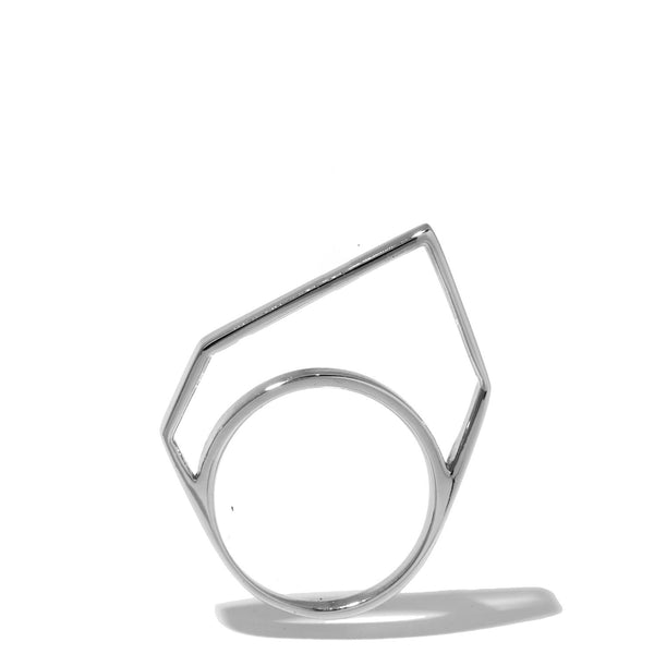 Thin Hollow Pixel Ring