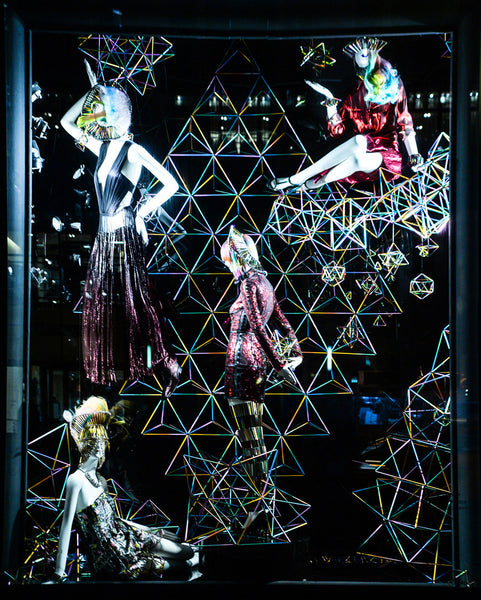WXYZ x Laura Wass [window for] Bergdorf Goodman x Grey Area
