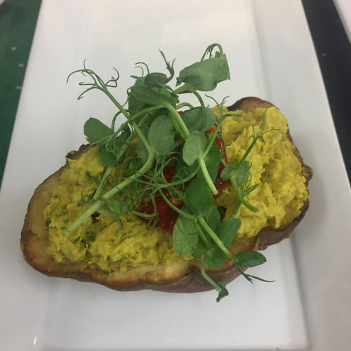 CAFE: SAVOURY: Kumara curried, Gluten Free, Dairy Free, Vegetarian, Vegan