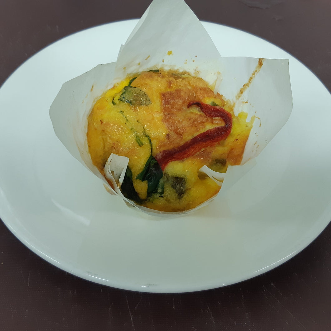 MEAL: SMALL MEAL: Roast Vege Frittata, 2 pieces