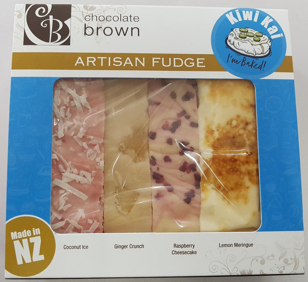 Fudge: Kiwi Kai 4 box