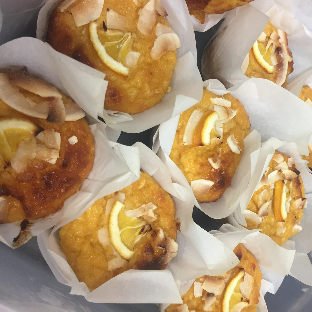 CAFE: SWEET: Orange Almond Cake  (Gluten Free)