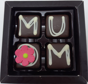 Mum: Caramel MUM 53% DARK 4 Box