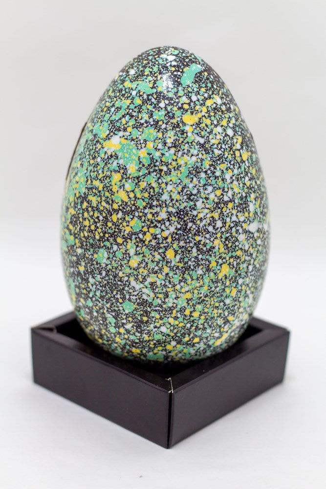 Easter: Egg Speckled Green/Yellow DARK Large each Bag