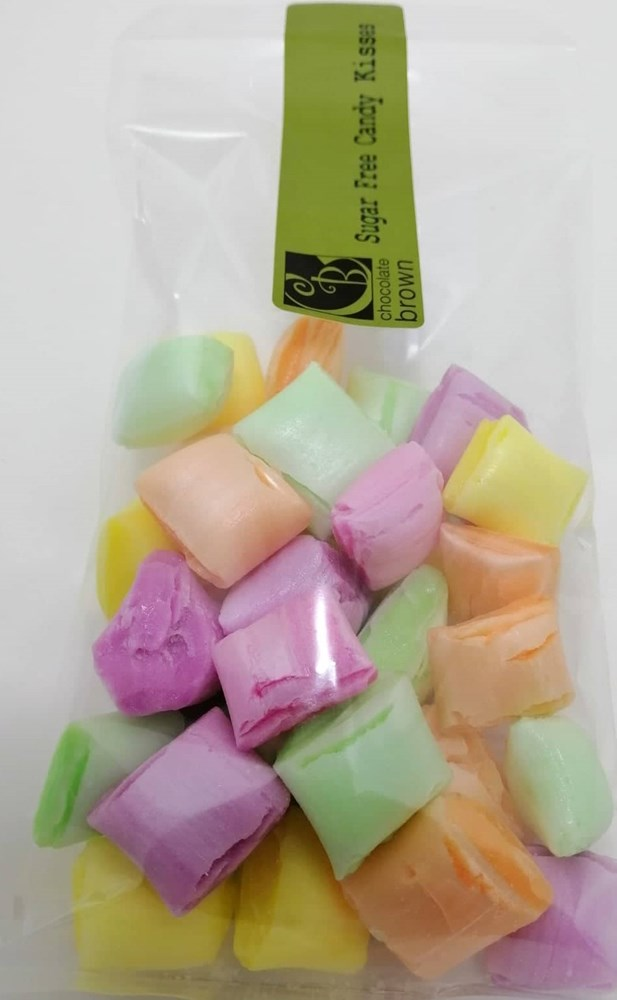 Sweets: SF Mixed Kisses 100g Bag