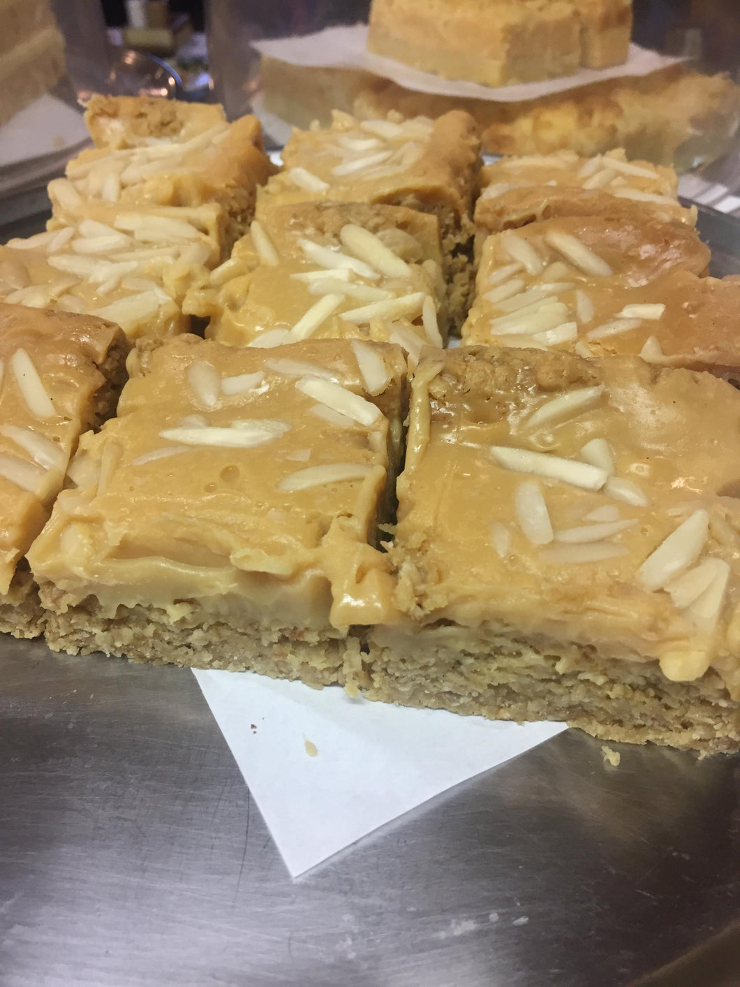 CAFE: SWEET: Toffee Oat Nut Slice