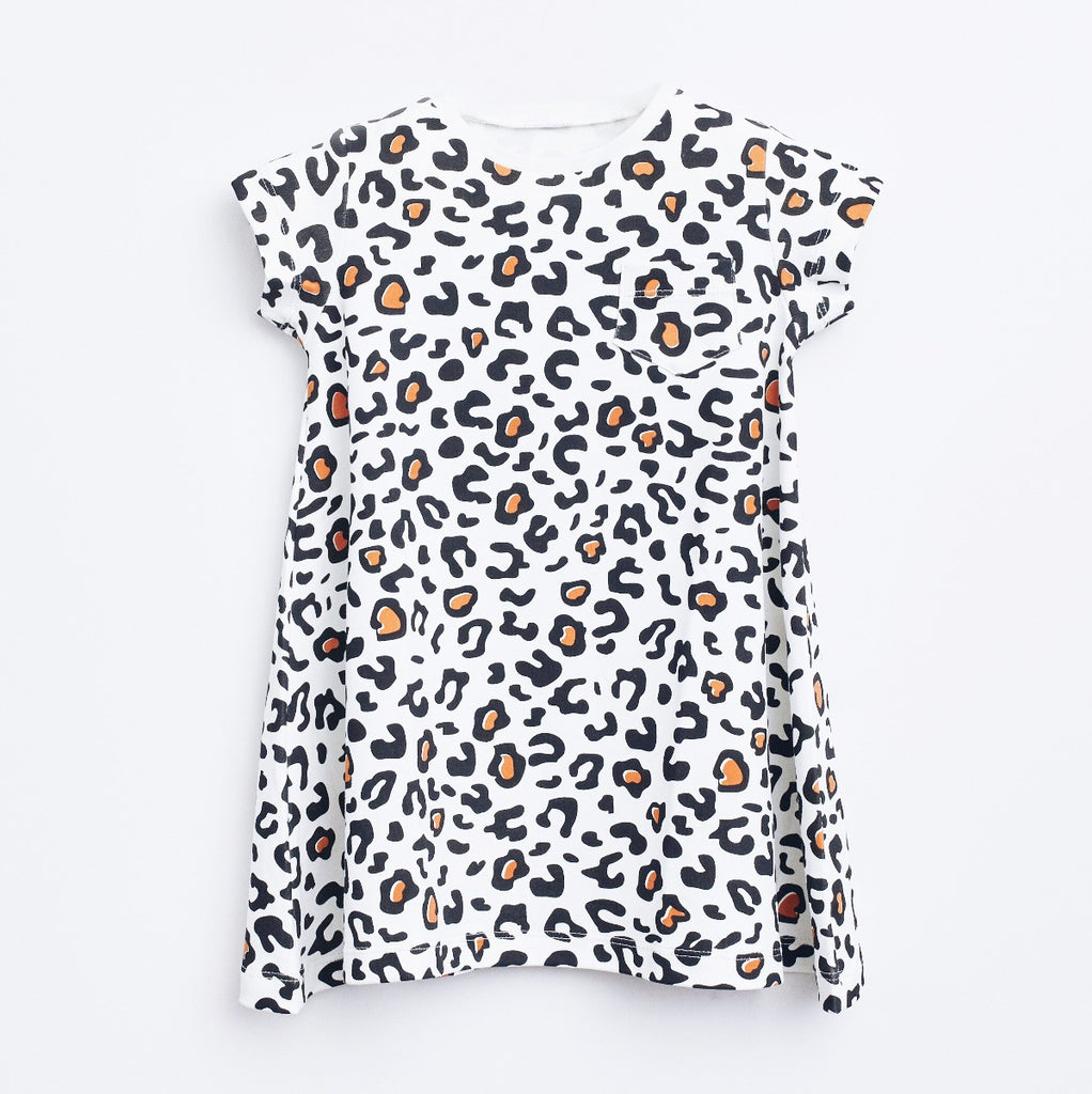 Camiseta en A Animal Print 2CT20100 | Animal Print A T-Shirt 2CT20100