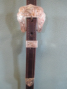 Scottsdale Silver Sliding Ear Headstall