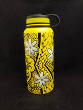Load image into Gallery viewer, 32oz Water Bottle Insulated Double Wall UV Print Tiare Poly