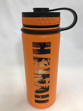 Load image into Gallery viewer, 18oz Water Bottle Insulated Double Wall UV Print Tropical HAWAII