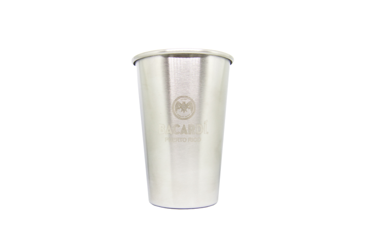BACARDÍ Stainless Steel Cup