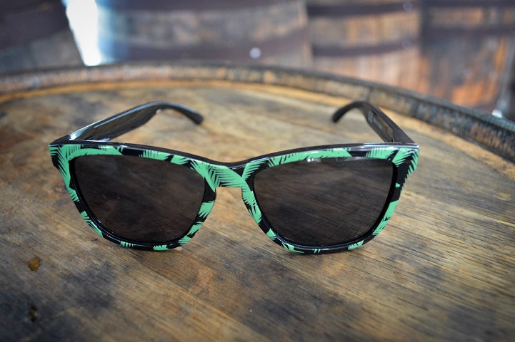 Palm Tree Leaves Sunglass