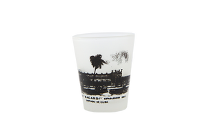 BACARDÍ Shot Glass El Coco