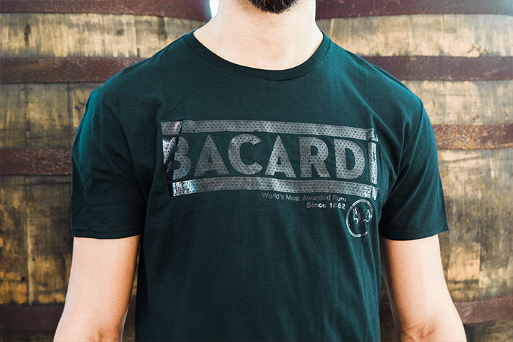 Black on Black BACARDÍ T-shirt