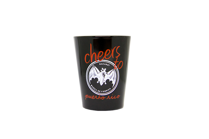 Cheers BACARDÍ Shot Glass
