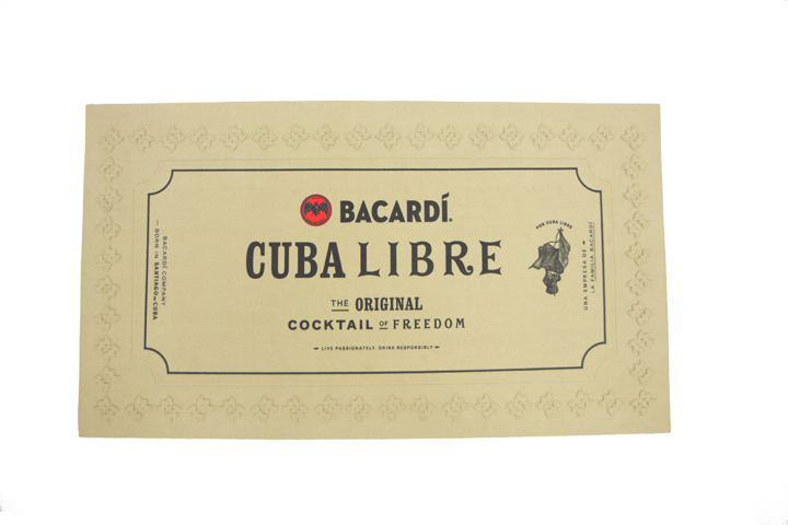 BACARDÍ Gold Bar Runner (Small)