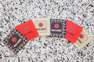 Bacardi Vintage Drink Coasters (Set of 6)