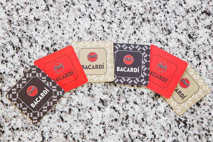 BACARDÍ Vintage Coasters (Set of 6)