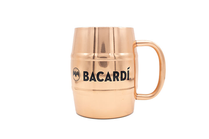 BACARDÍ Copper Barrel Mug
