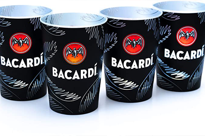 BACARDÍ Illuminated Cup (set of 2)