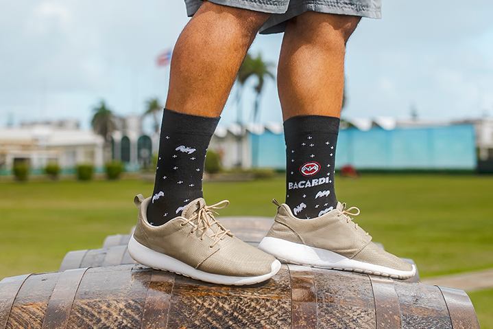 BACARDÍ Made In Puerto Rico Socks