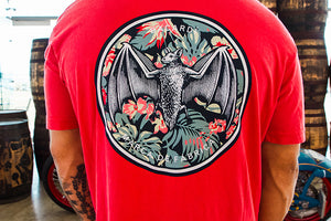 Tropical BACARDÍ Bat T-Shirt