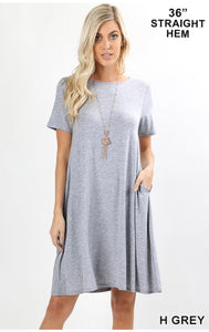 Heather Grey Dress