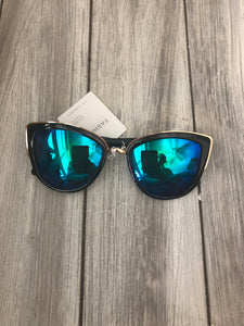 Green/Blue Sunglasses
