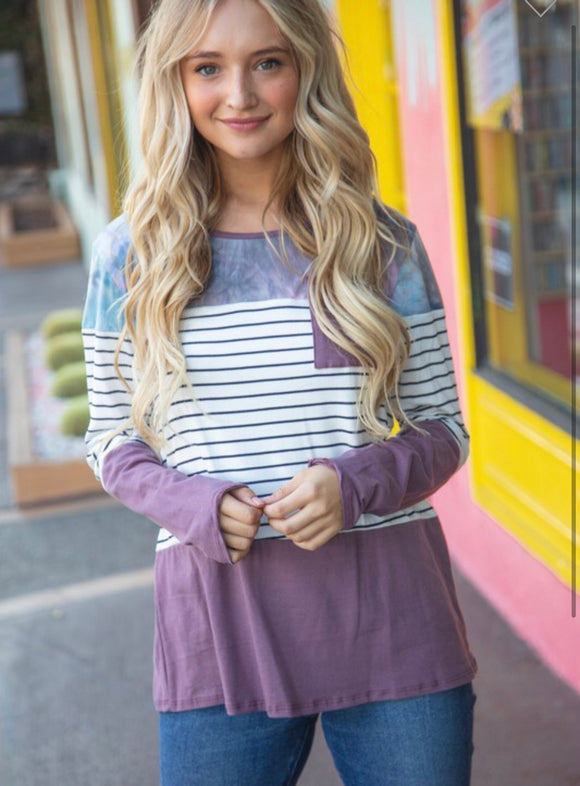 Purple Lillian Top
