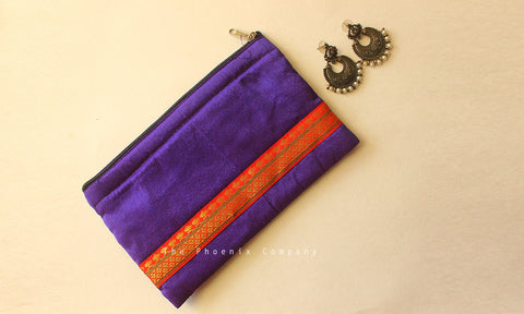 Purple Multipurpose Designer Purse