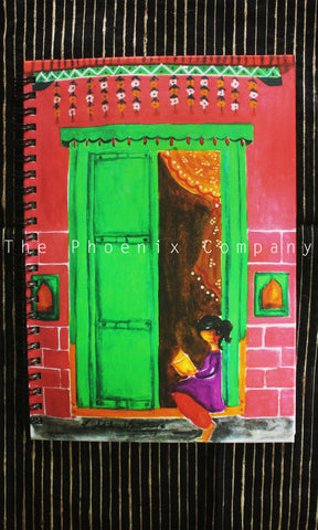 Village Door Notebook