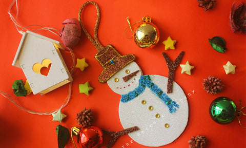 Snowman Handmade Christmas Decoration
