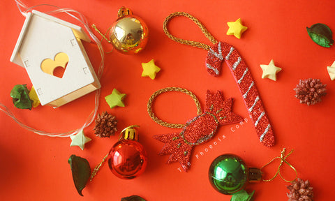 Candycane & Chocolate Handmade Christmas Decoration