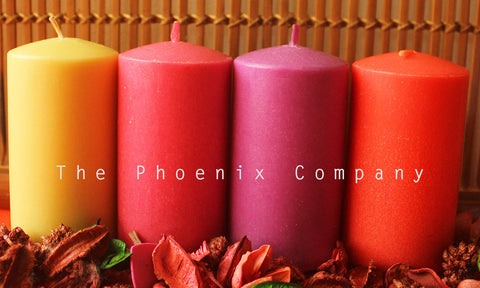 Scented Candles (4 colours)
