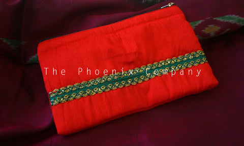 Red Multipurpose Designer Purse