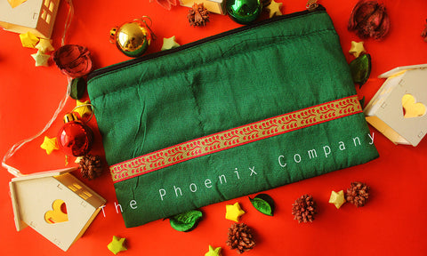 Green Multipurpose Designer Purse