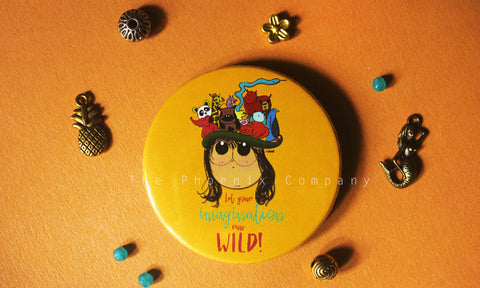Imagination Button Badge
