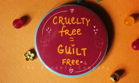 Cruelty Free Button Badge
