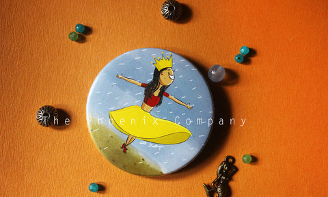 Dancing Queen Button Badge
