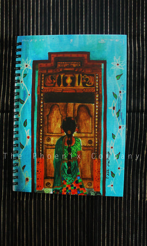 Chettinad Door Notebook