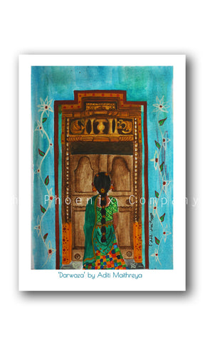 Chettinad Door Print